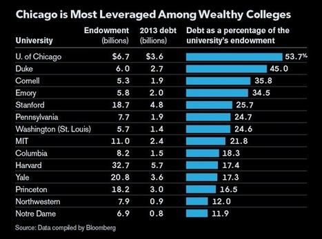 University of Chicago Is Outlier With Growing Debt Load | SCUP Links | Scoop.it