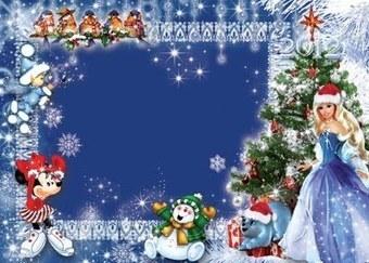 Banco de Imagenes Gratuitas: Portaretratos Disney PSD navideño ... | Recursos | Scoop.it