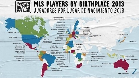 Geography of Soccer in the US | Ashley's Wonderful Geography page | Scoop.it