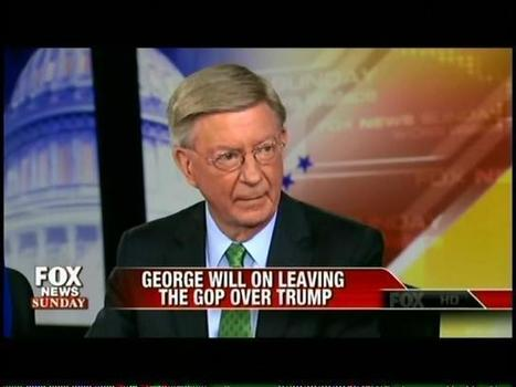 "George Will Leaves The GOP Because Of Trump: ""This Is Not My Party Anymore"" 