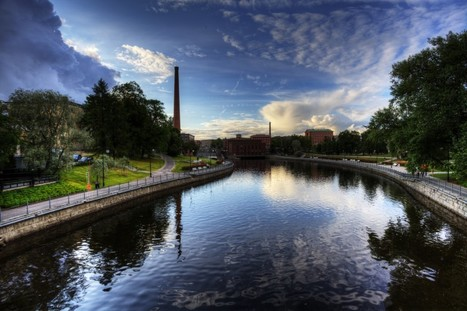 River at Tampere | Finland | Scoop.it