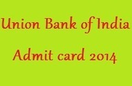 Union Bank of India Admit card 2014 download UBI SO Hall Ticket | Careerit | Scoop.it