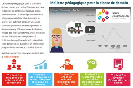 Mallette pédagogique pour la classe de demain : Rédiger des scénarios pédagogiques du futur | Web2.0 et langues | Scoop.it