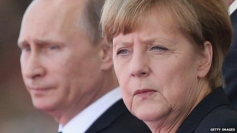 Merkel condemns Russia 'interfering' in Eastern Europe - BBC News | CLOVER ENTERPRISES ''THE ENTERTAINMENT OF CHOICE'' | Scoop.it