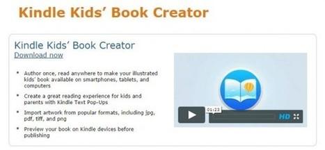 Amazon lança ferramenta para publicação de livros infantis em Kindle | Evolução da Leitura Online | Scoop.it