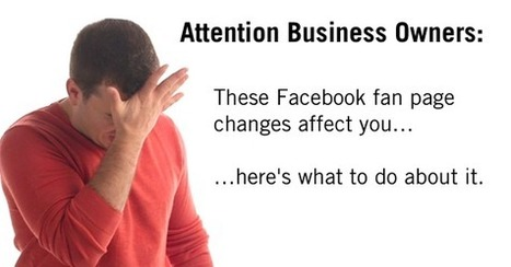 Warning: If You Have A Facebook Fan Page, Read This… | Social Media Marketing Know-How | Scoop.it