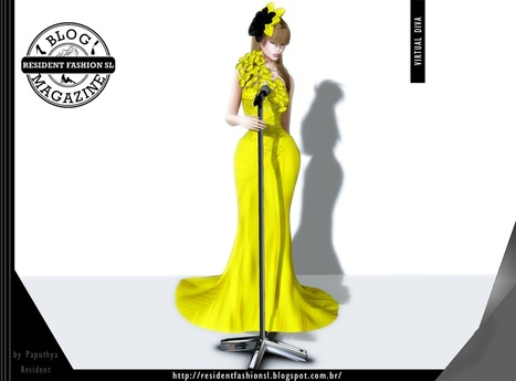 Solei Gown by Virtual Diva | ResidentFashion | Scoop.it