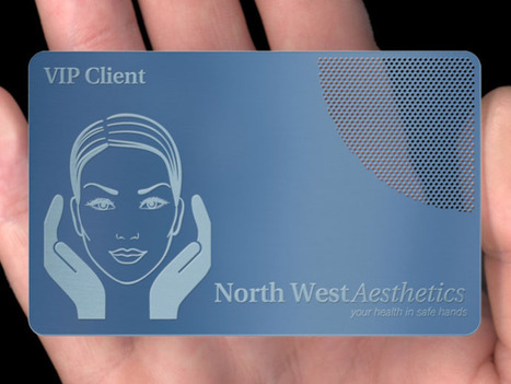 Collection of Metal Business Cards   Metal Business Card   Scoop.it