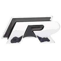 Car Accessories Shop –  Cool 3D R-line Chrome Car Logo/ Symbol/ Mark/ Signs Universal Sticker | +++ Car Accessories Shop | Scoop.it