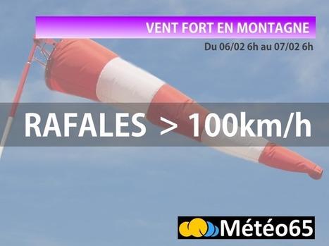 Vent fort en montagne, ce week-end   Vallée d'Aure - Pyrénées   Scoop.it