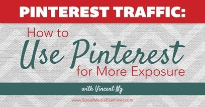 Pinterest Traffic: How to Use Pinterest for More Exposure | English Language | Scoop.it