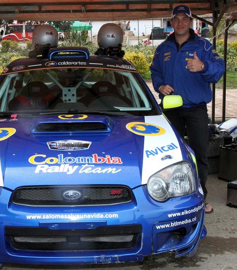 Julián Jaramillo ahora vuela en los rallies - La Patria.com   rally colombiano   Scoop.it