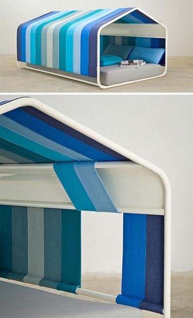 Home Inside a Home: Peaceful 'Pause' Indoor Hut Structure | Designs & Ideas on Dornob | Designer | Scoop.it