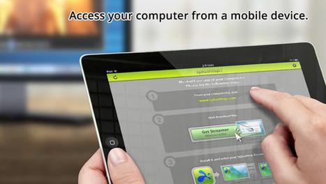 Contrôlez votre ordinateur à partir de votre iPad | Splashtop | ENT | Scoop.it
