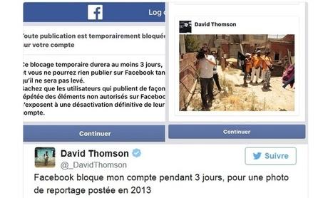Euh, Facebook, c'est les terroristes qu'il faut bloquer, pas les journalistes ! | La Lorgnette | Scoop.it