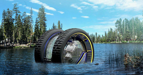 You Could Roll on Land or the Seafloor in This Fanciful Concept Car | ScubaObsessed | Scoop.it