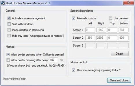 Double écran : maitriser la souris à la limite entre les moniteurs | Web information Specialist | Scoop.it