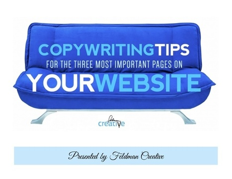 Copywriting Tips for the Three Most Important Pages on Your Website | Virtual Administrator | Scoop.it