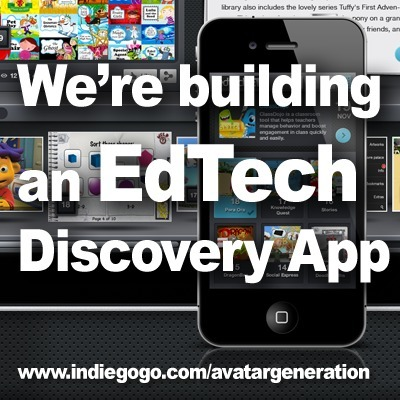 EdTech Discovery iPad App Campaign Launched to Support Innovative Teachers | 3D Virtual Worlds: Educational Technology | Scoop.it