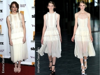 Spring Summer 2012 Trend: White Pleated Dresses | Go Wedding | Scoop.it