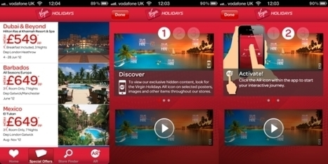 Virgin Holidays seeks immersive experience via augmented reality application | Tnooz | eTourism Management & Marketing | Scoop.it