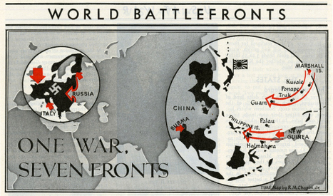 Stunning D-Day Maps From TIME Magazine | CLIL-DNL History | Scoop.it