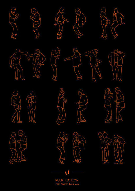 Most Famous Pop Culture Dance Routines | Typography+Infographics | Scoop.it