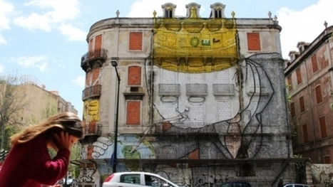 Le street art contestataire de Lisbonne | NOVAPLANET | Portugal | Scoop.it