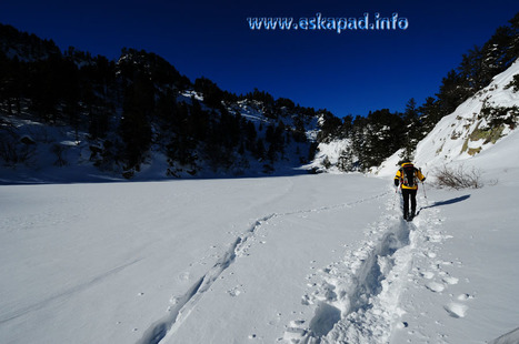 La cabane de la Balmeta en rando raquettes (Pyrénées Orientales) | Topo et fiche de randonnée à pied by eskapad | Scoop.it