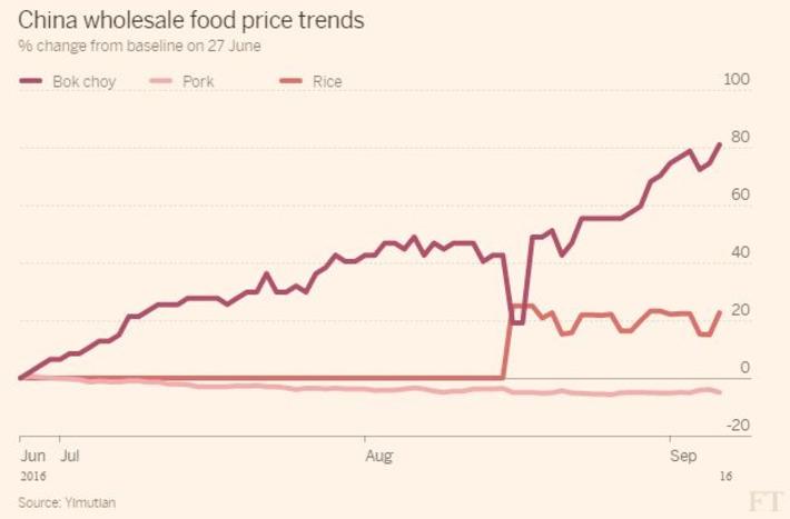 Los precios de los alimentos apuntan a nuevas presiones en el IPC de China | Top Noticias | Scoop.it