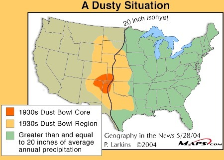 didjuno? the dust bowl is back in the news | Geography in the News | Scoop.it