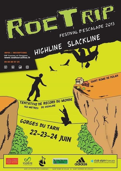 22-24 JUIN - Roc Trip 2013 dans les Gorges du Tarn   Tourisme en Lozère   Scoop.it