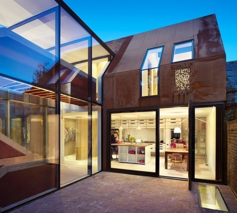 Kew House: Old Meets New at an Experimental Build in London | sustainable architecture | Scoop.it