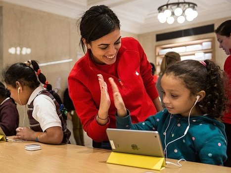 Apple is now offering a summer class that will teach kids how to code | iPads, MakerEd and More  in Education | Edtech PK-12 | Scoop.it
