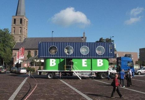 Une bibliothèque mobile faite decontainers | LibraryLinks LiensBiblio | Scoop.it