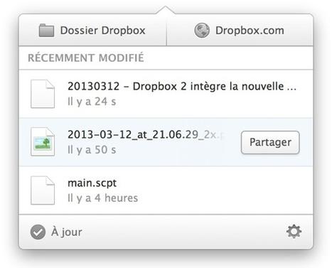 Dropbox 2 intègre la nouvelle interface - MacGeneration   Technologies informatique   Scoop.it