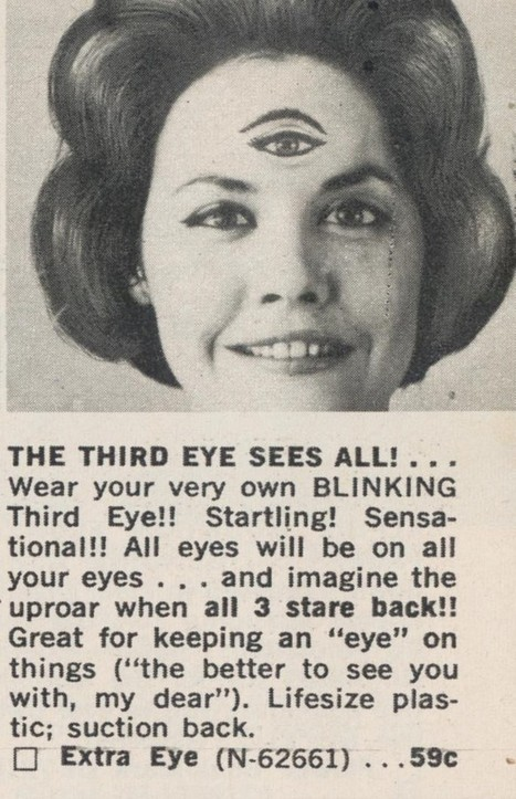 The 3rd Eye Sees All! | Kitsch | Scoop.it