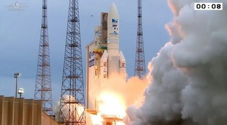 Ariane 5 Lofts Pair of DirecTV Satellites - SpaceNews.com | Space In Cyberspace | Scoop.it