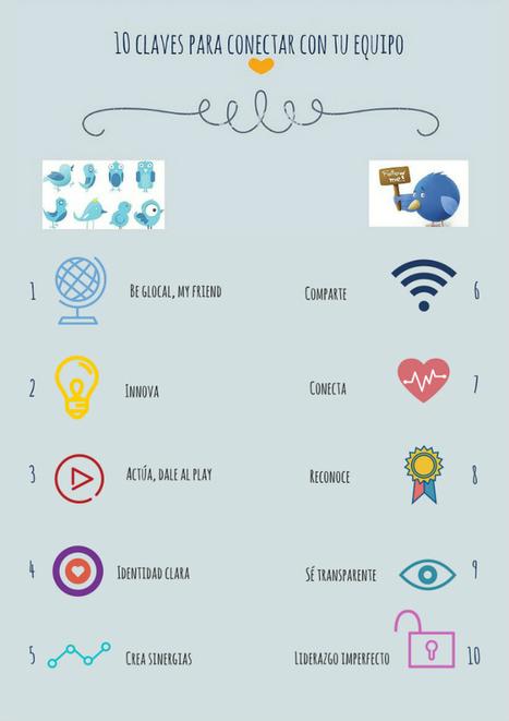 10 claves para conectar con tu equipo | Redes para emprender | Scoop.it