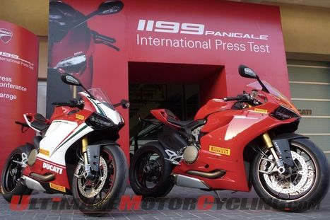 Ultimate Motorcycling | Pirelli & Ducati 1199 Abu Dhabi Launch | Motorcycle News | Ductalk Ducati News | Scoop.it