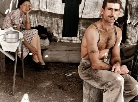 36 Realistically Colorized Historical Photos Make the Past Seem Incredibly Alive | Un jour en France | Scoop.it