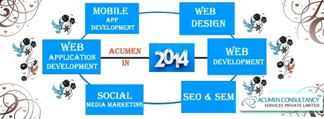 Experience a new phase of Acumen in 2014 | web development | web design | SEO | Scoop.it