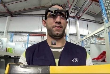 Les lunettes connectées au service des entrepôts de logistique | CRITT Transport et Logistique en Haute Normandie | Scoop.it