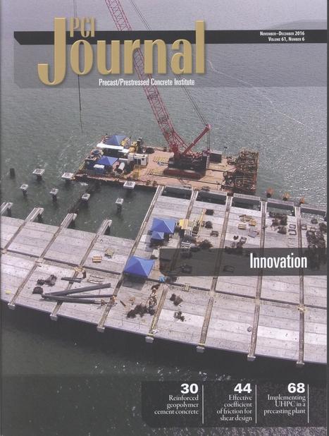 PCI Journal, Vol. 61, nº 6 (2016)   Ingeniería Civil   Scoop.it