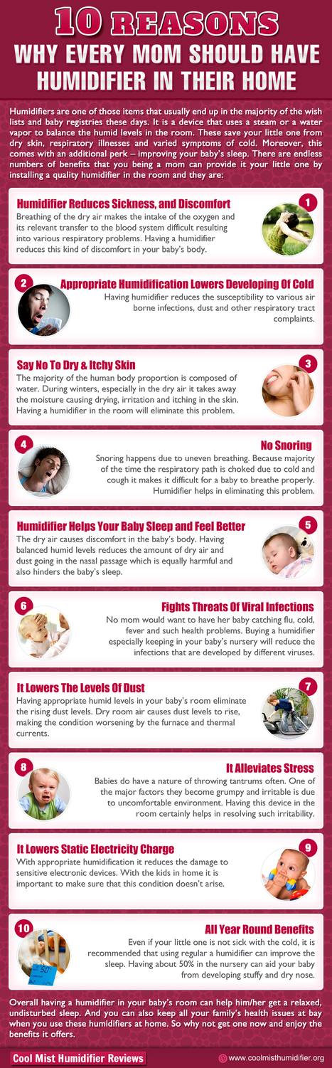 10 Reasons Every Mom Should Have Humidifier | Neck and Back Pain | Scoop.it