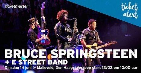 Bruce Springsteen reprend la route à La Haye - le Blog Bruce Springsteen   Bruce Springsteen   Scoop.it