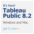Free Data Visualization Software | Tableau Public | Tech Tools for the 21st Century Classroom | Scoop.it