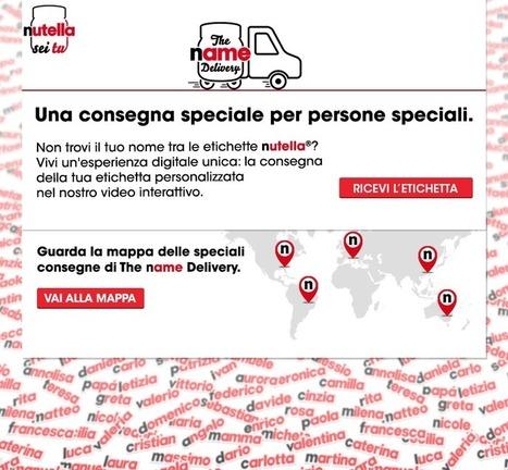 Coca-Cola e Nutella: le campagne dei nomi. | News pubblicità | Scoop.it
