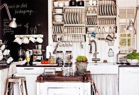 Κουζίνα. Διακόσμηση σε ένα δύσκολο χώρο | Interior Design | Scoop.it
