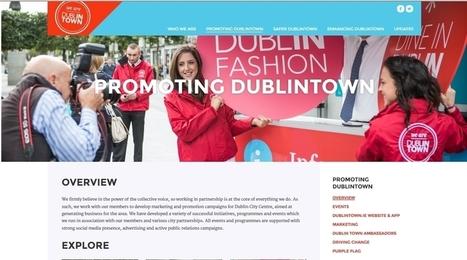 Marketing d'un centre ville : exemple de Dublin - Marketing Territorial | Habillage Urbain | Scoop.it